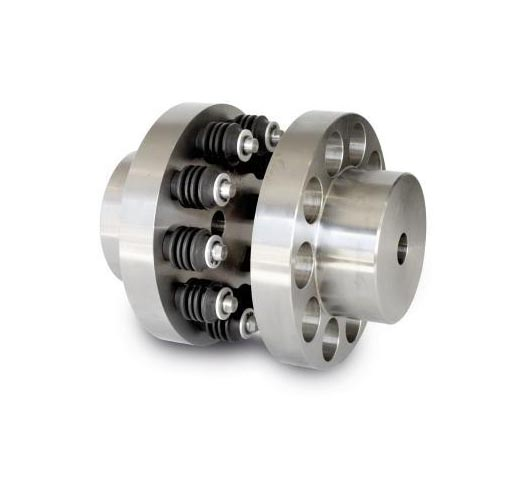 FCL Pin Coupling with Elastic Sleeves